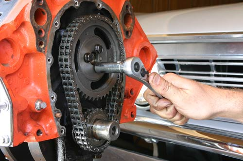timing chain or belt