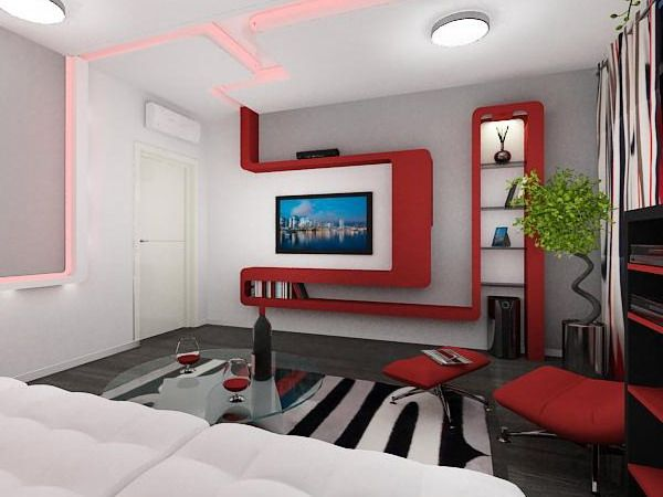 idea of decorating a small living room in an apartment