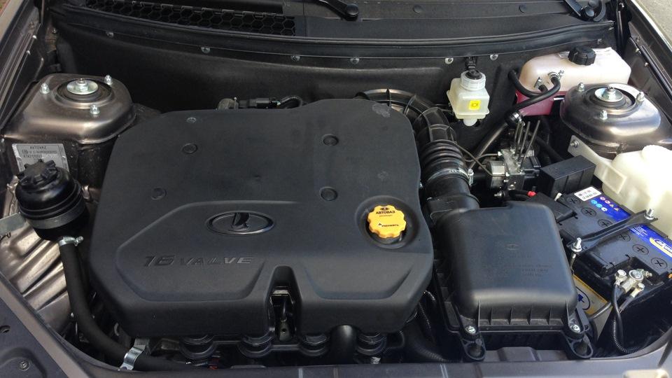 Фотография мотора приоры