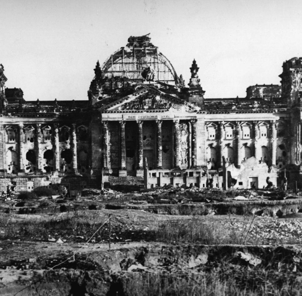 Reichstag after the war