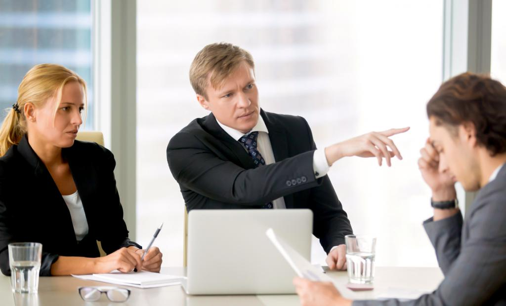 disciplinary offenses types of disciplinary action