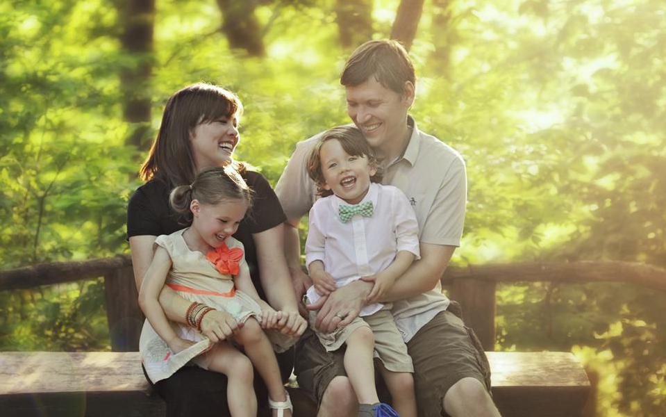 семья с разнополыми близнецами