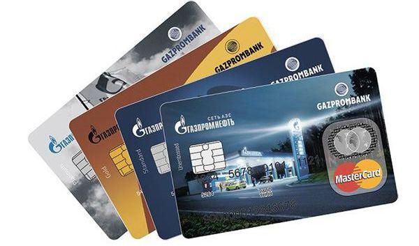 Gazprombank credit cards