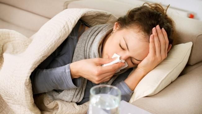 flu symptoms in adults without fever