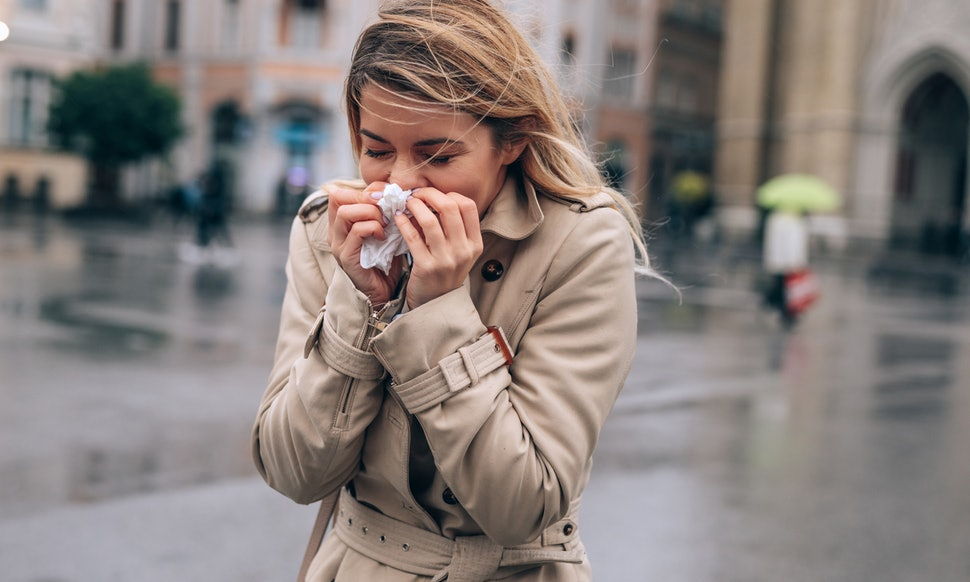 flu cough without fever