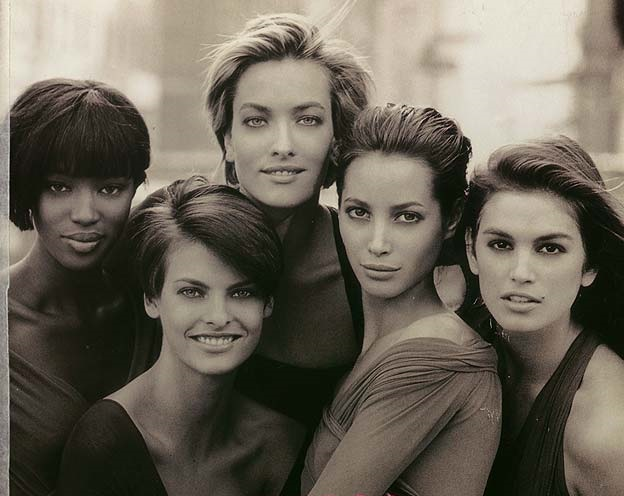 five supermodels