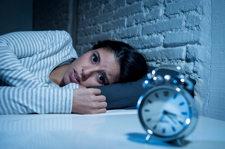 sleep deprivation in depressed state