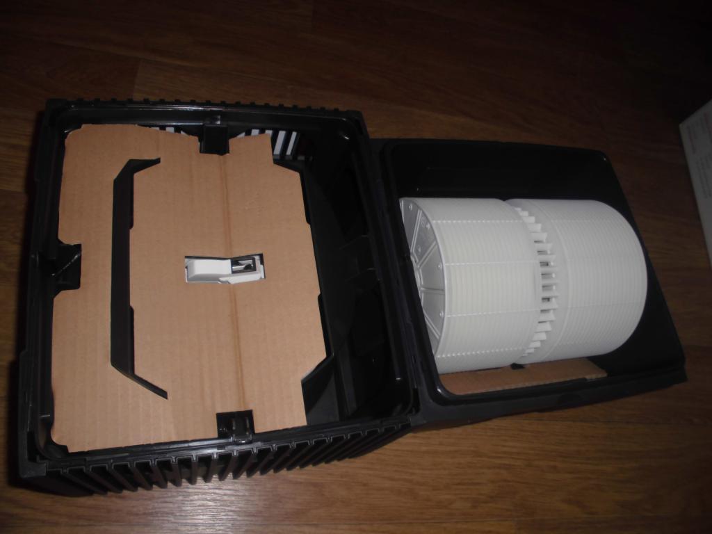 Распаковка увлажнителя