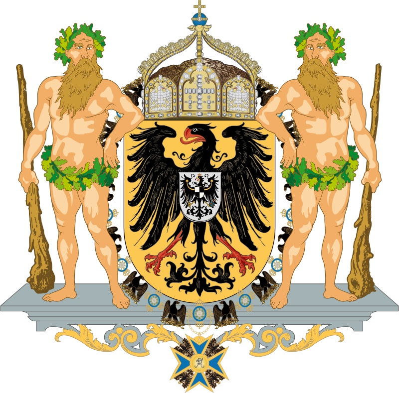 Old coat of arms of Germany
