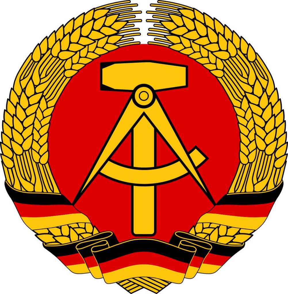 Coat of arms of a democratic republic