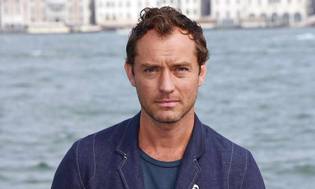 Jude Law by the river