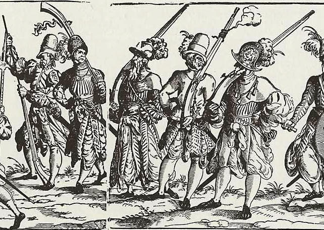 Huguenot army