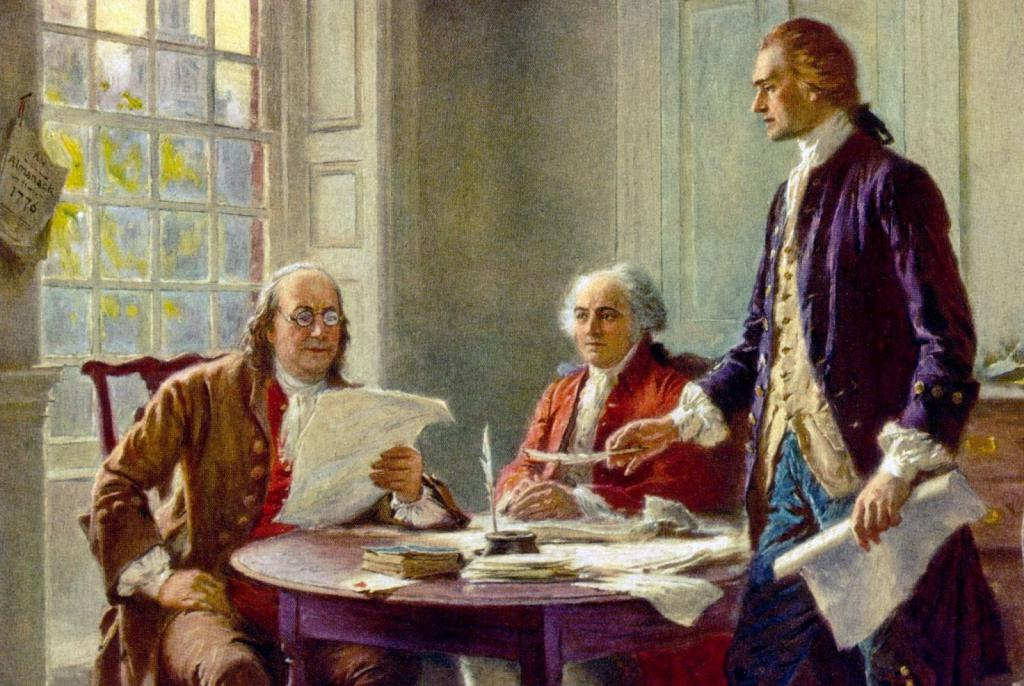 Adams, Franklin, Jefferson
