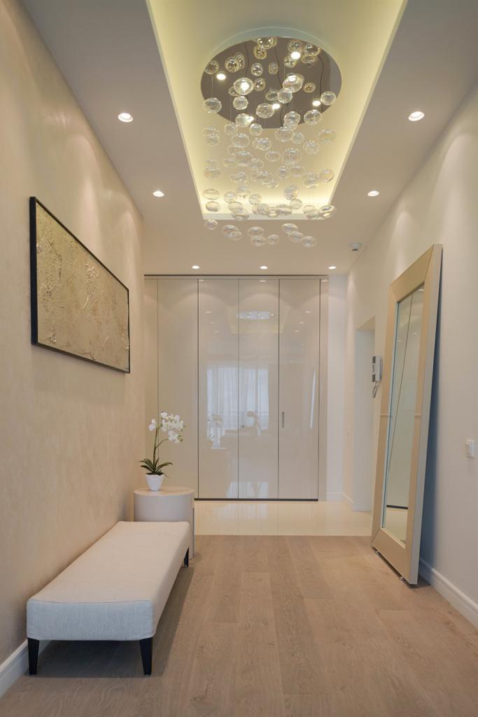 narrow hallway design example
