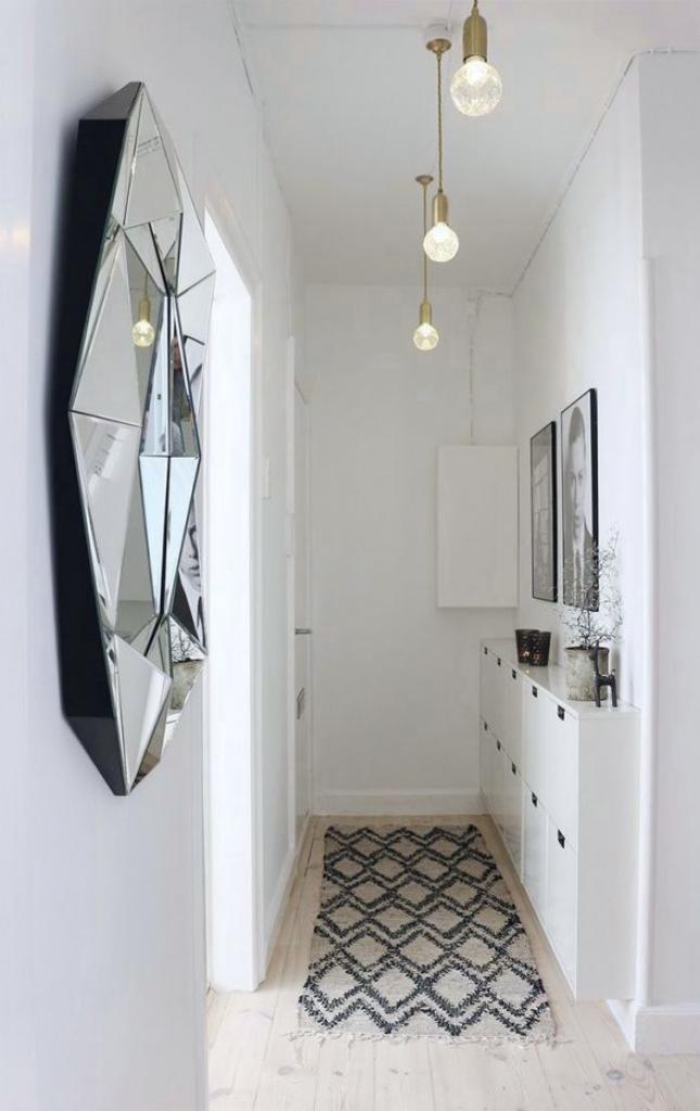narrow hallway design idea