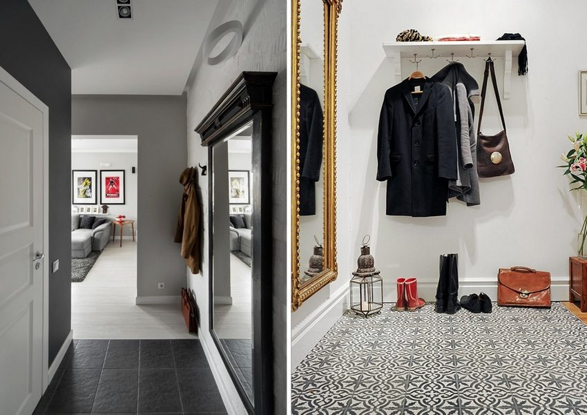 High-tech hallway design
