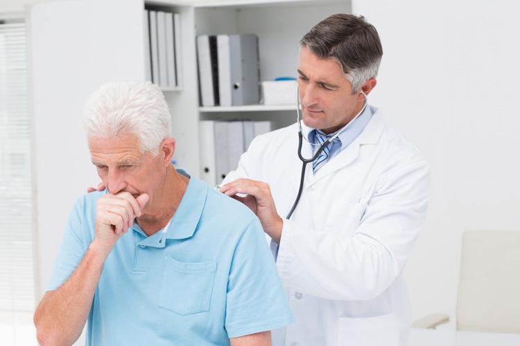 Умеренный диффузный пневмосклероз