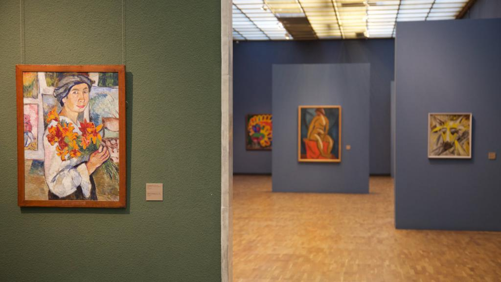 Pictures in the Tretyakov Gallery