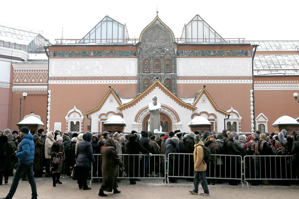 The queue at the Tretyakov Gallery