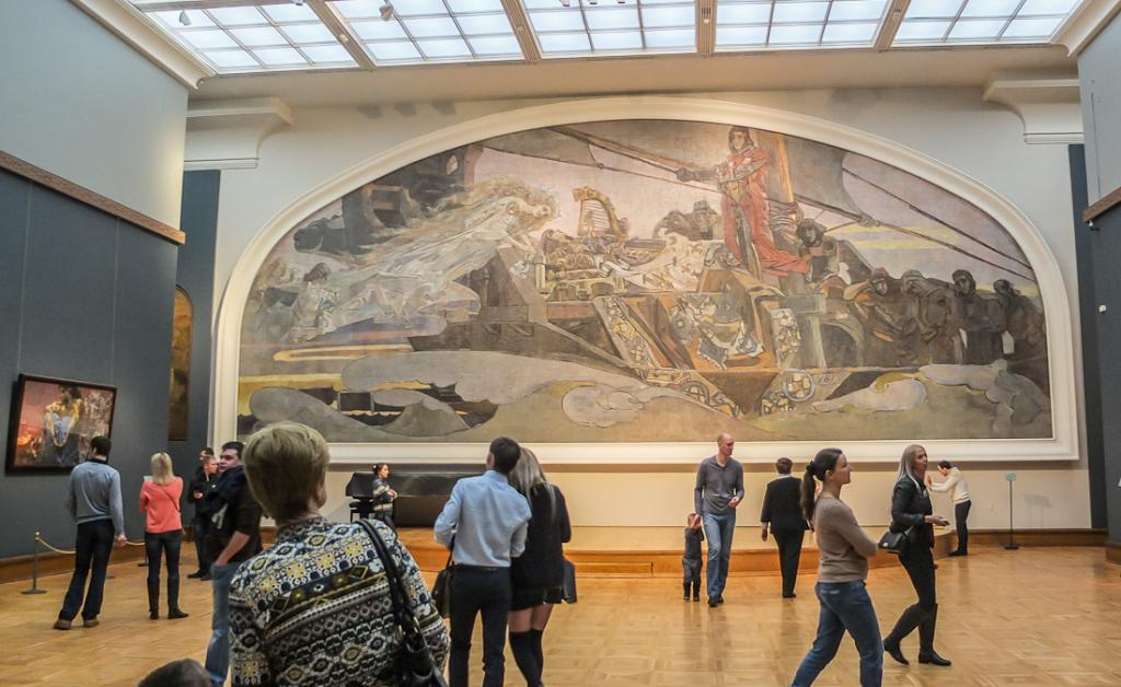 Exhibitions in the Tretyakov Gallery