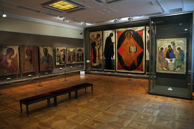 Icons in the Tretyakov Gallery