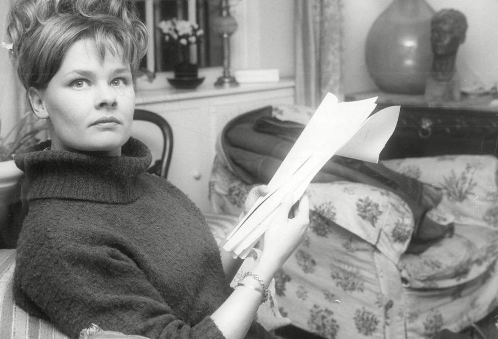 Young Judi Dench