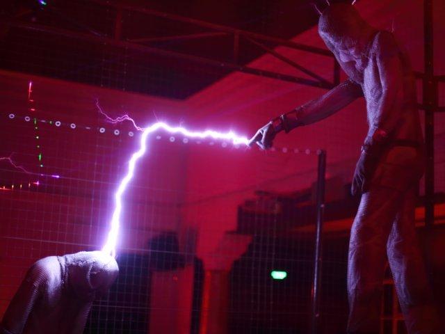 дуга электрического разряда