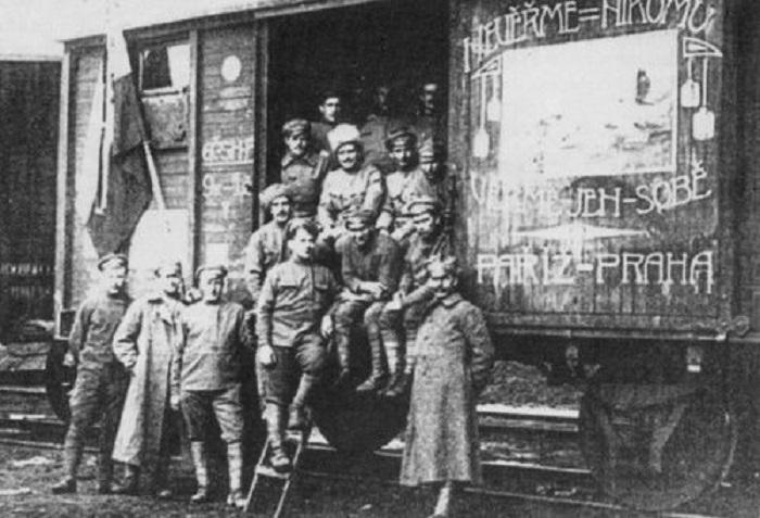 uprising of the Czechoslovak Corps