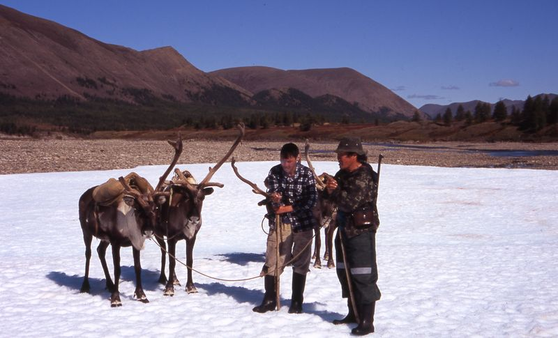 Aboriginal in harmony with nature