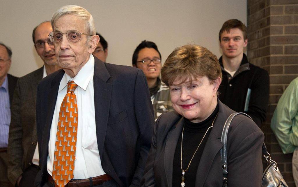 John Nash and his wife