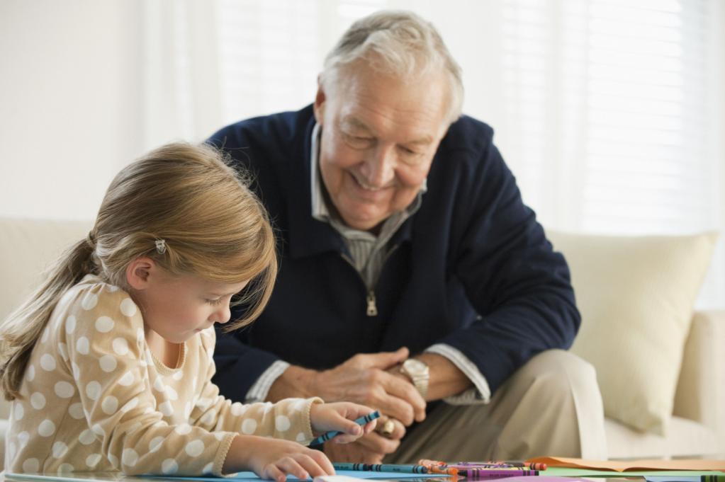 Grandparents also congratulate