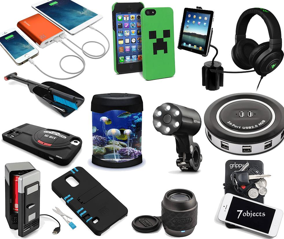 Variety of gadgets