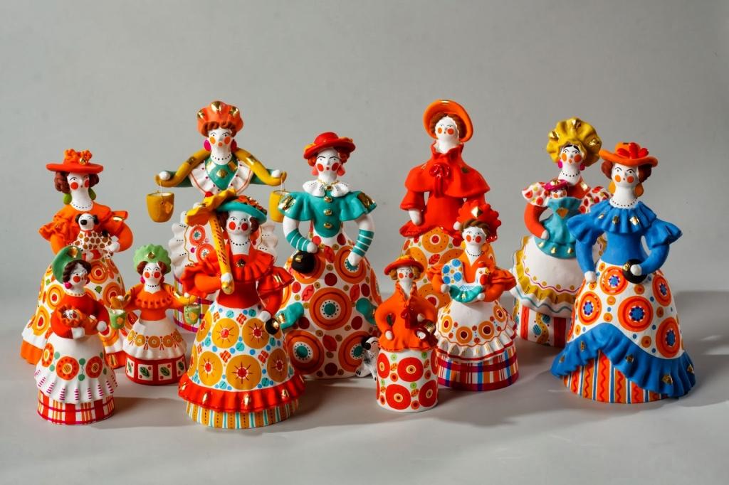 2446240 - Народный промысел глиняные фигурки