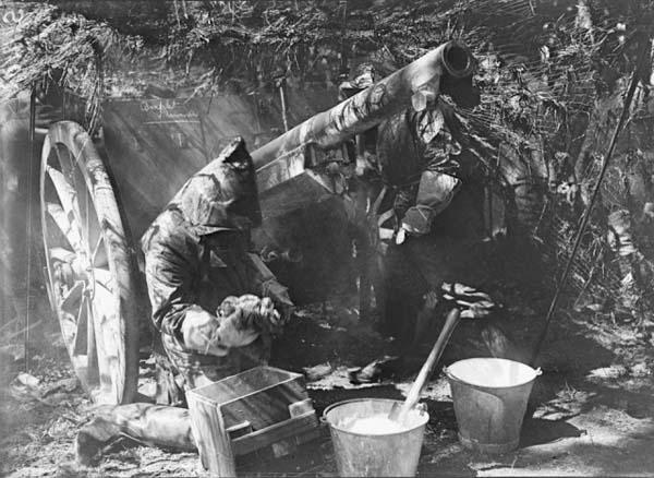 bleach pails for degassing