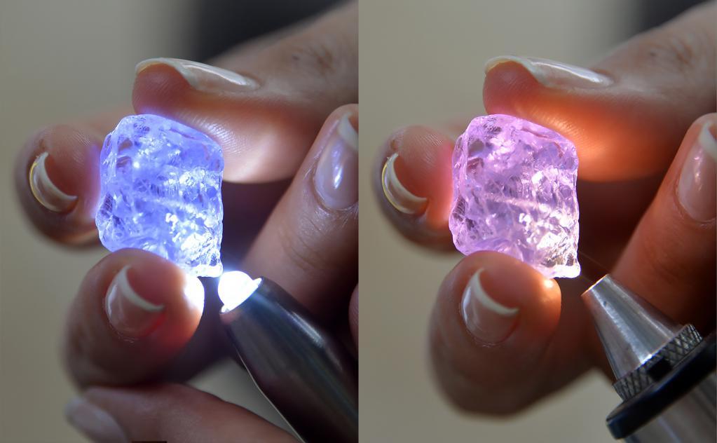 Прозрачность и преломление света в драгоценных камнях