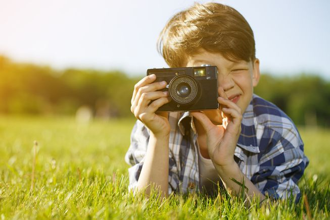 Compact camera for children
