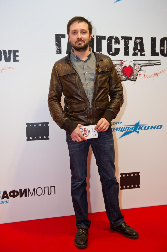 Daniel White on the red carpet