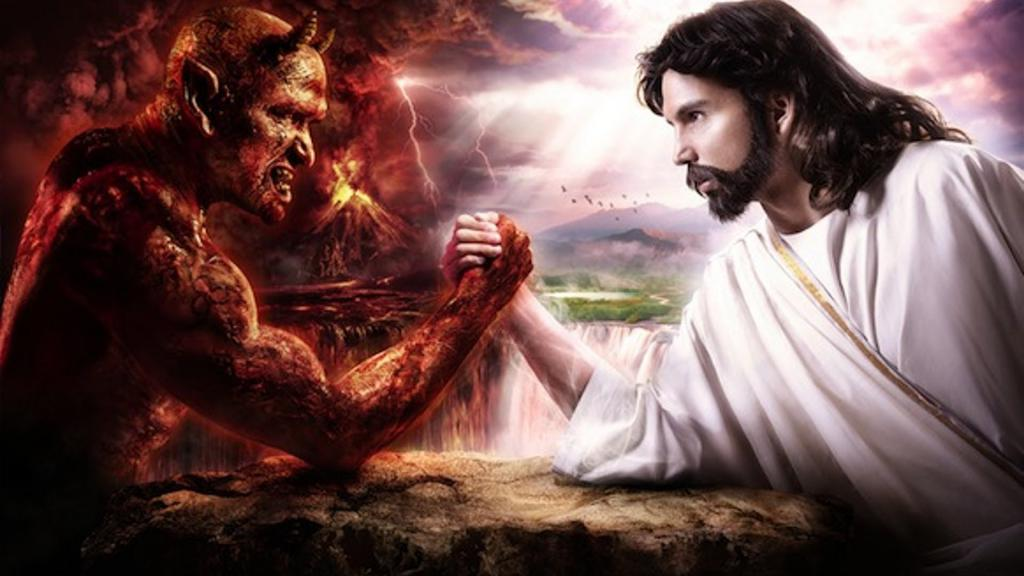 The struggle between good and evil