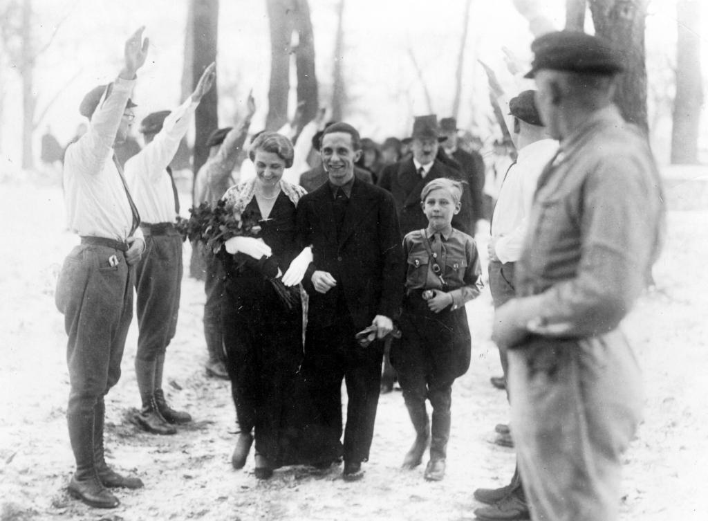 The wedding of Joseph and Magda Goebbels