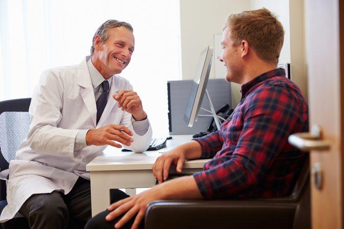 беседа с лечащим врачом