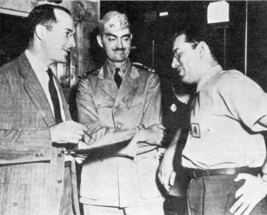 Heinlein, L. Sprague de Camp and Isaac Asimov