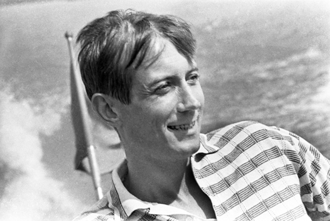 Yevtushenko in his youth