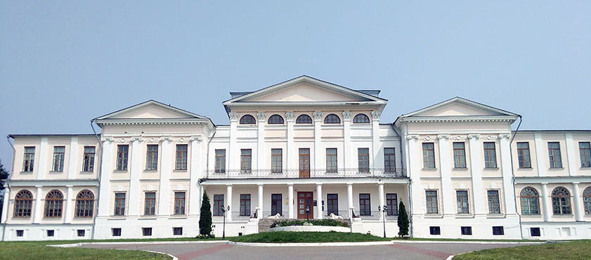The main building of the estate