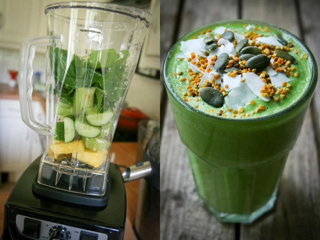 Fat-burning drinks at home