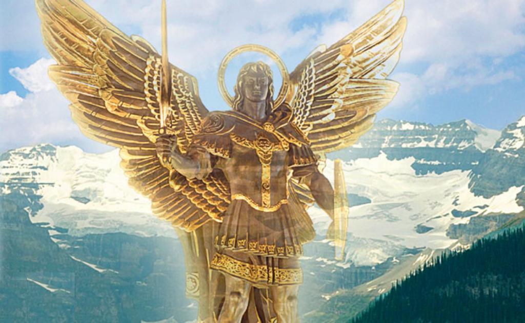 связывает фото архангела михаила для рабочего стола процессом