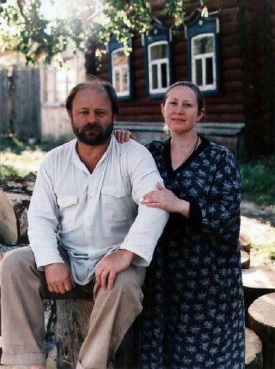 Vladimir Ilyin and his wife