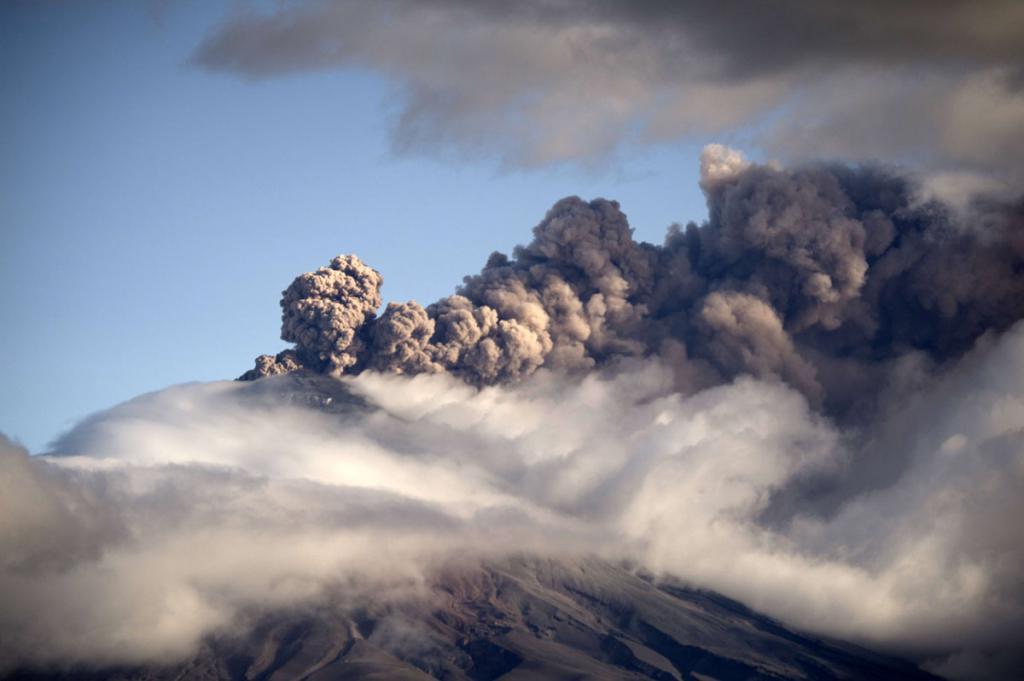 Cotopaxi eruption