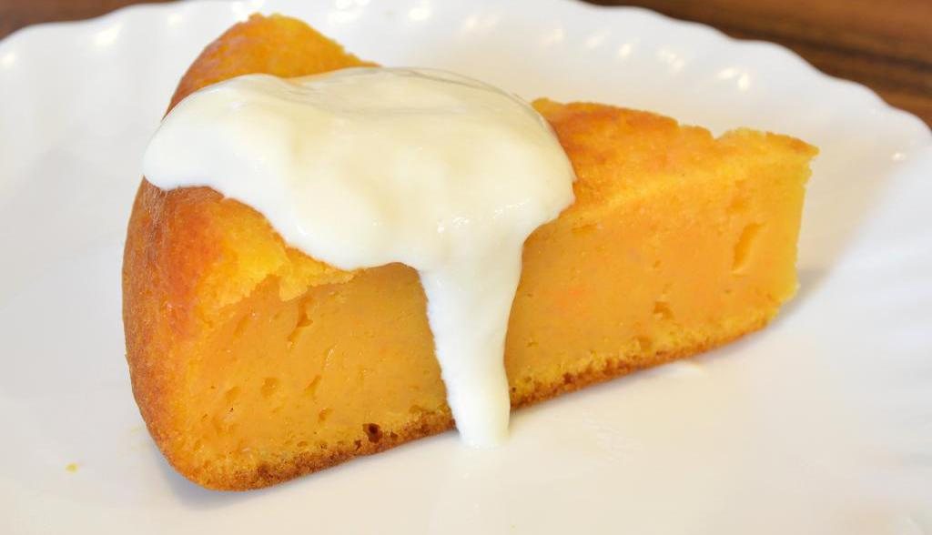 pumpkin and cottage cheese casserole