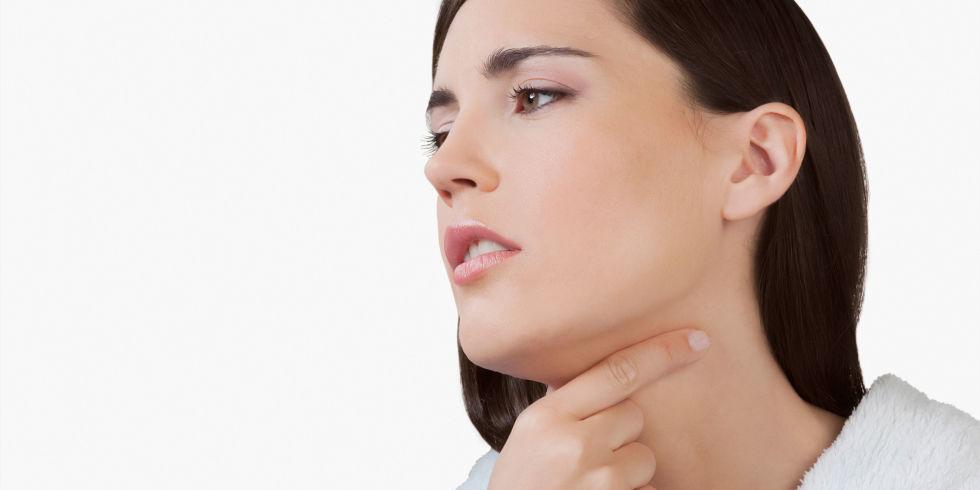 hemophilus wand in the throat