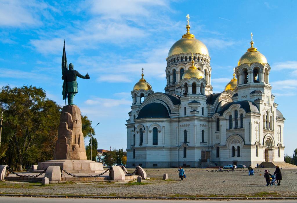 Ascension Cathedral. Novocherkassk